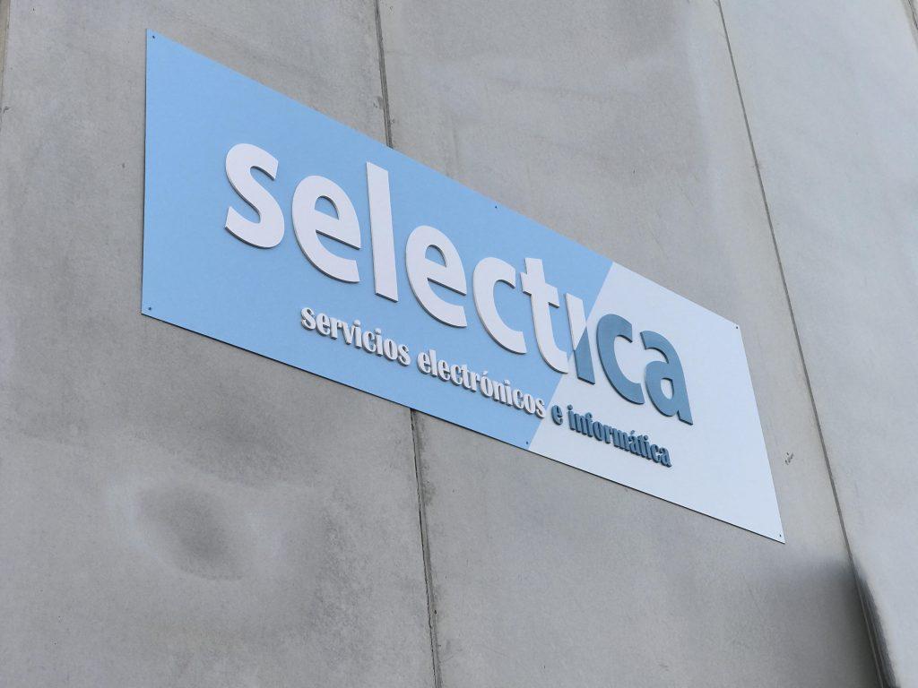 cartelon Selectica fachada