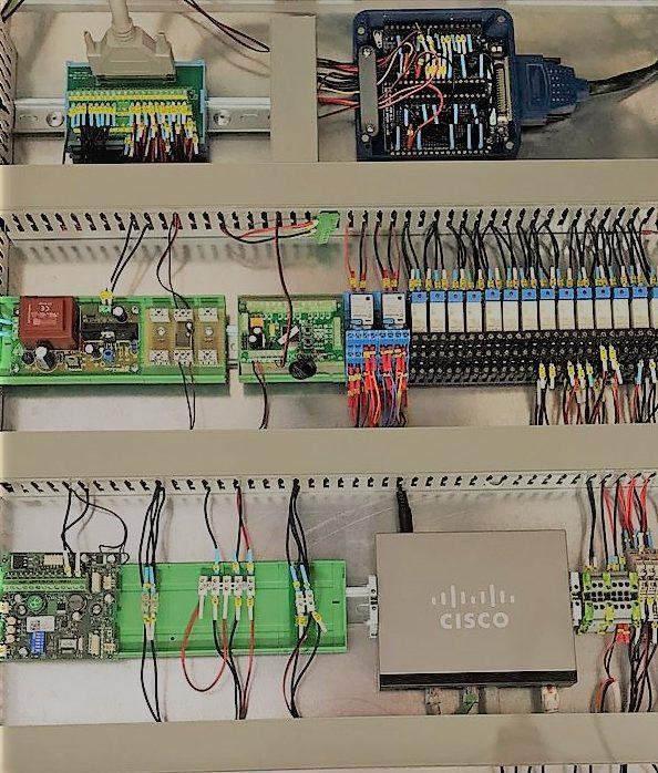 Cuadro automatismos para linea producción Valencia