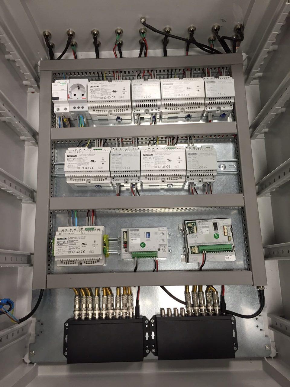 cuadro eléctrico automatismos linea de producción Valencia