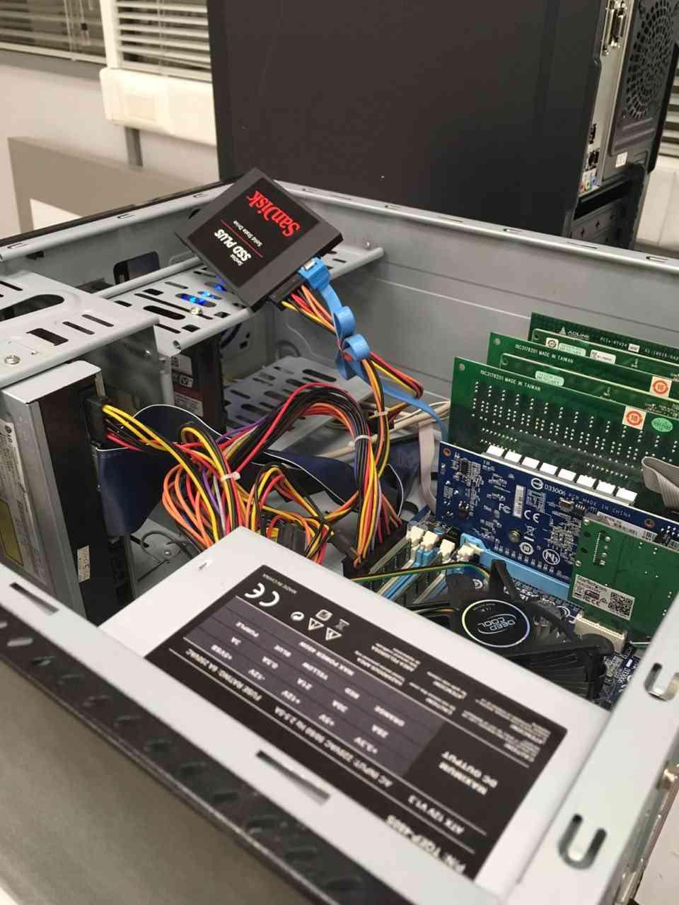 Sustitución SDD en PC en Valencia