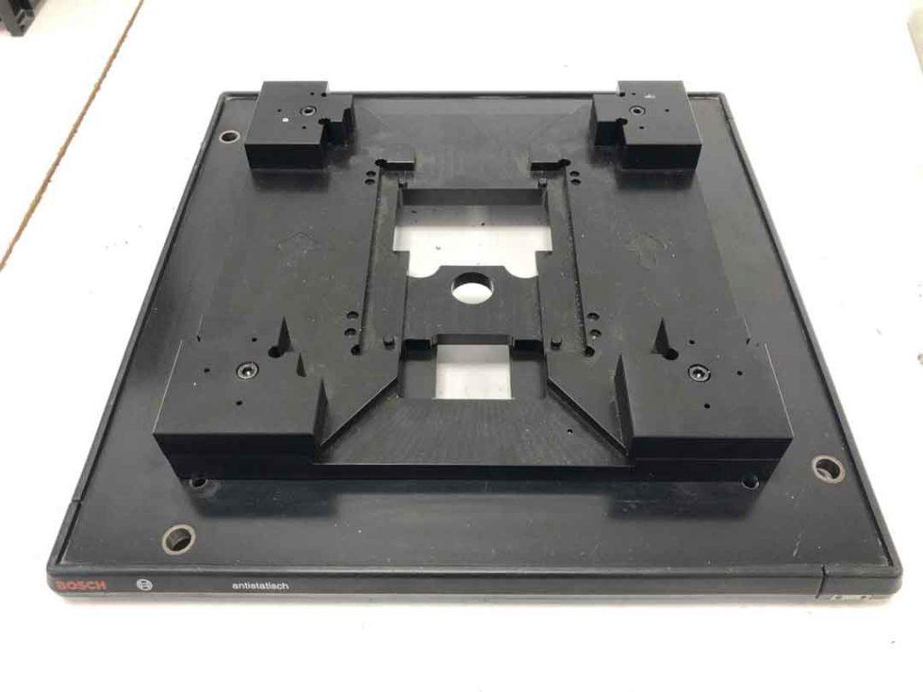 Huella para monitor de portero electrónico realizado en POM-C